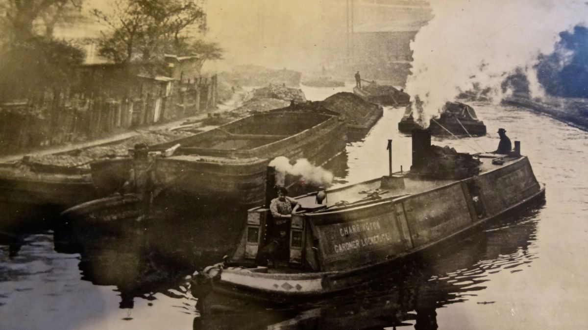 Regents Canal - historic images