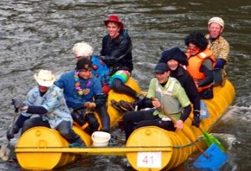 Matlock Raft Race 26-12-09 - Small