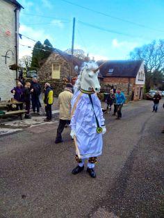 The Ripley Morris Men's creepy unicorn - Horace!