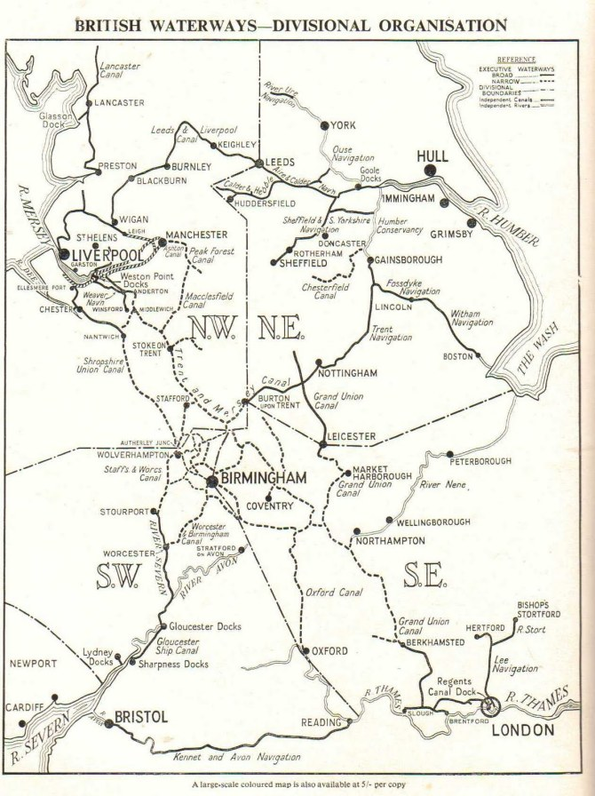 British Waterways Handbook 19527-001