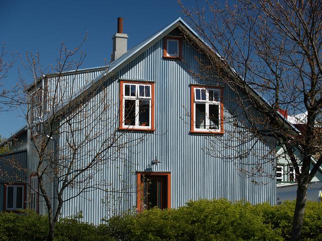 Reykjavik Colourful Corrugated Iron The Museum Of Thin