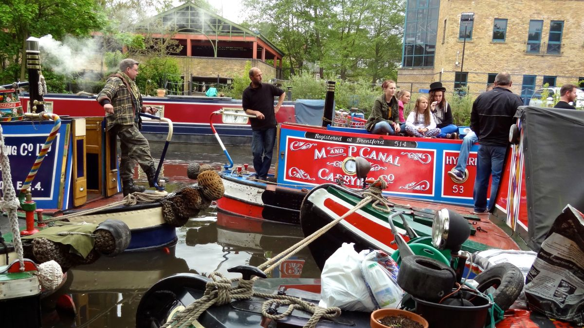 2013 Rickmansworth Waterway Festival 1. A Grand Time at 'the Ricky'