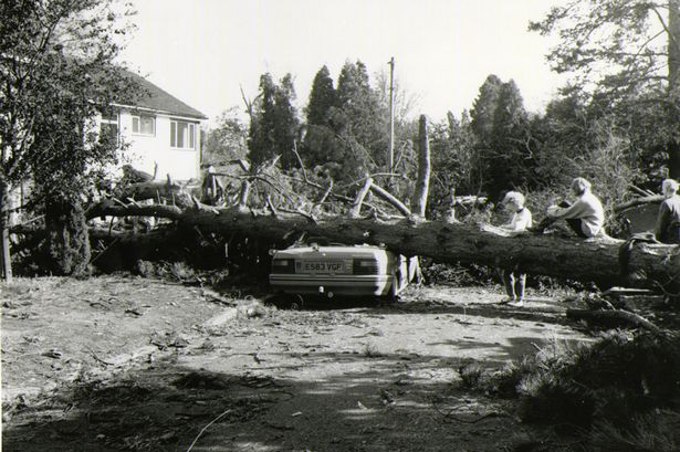 Great Storm October 1987-1368696