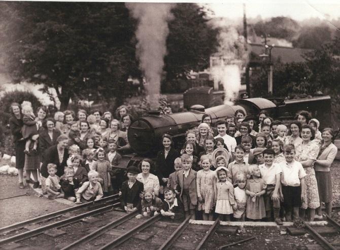 School visit 1947