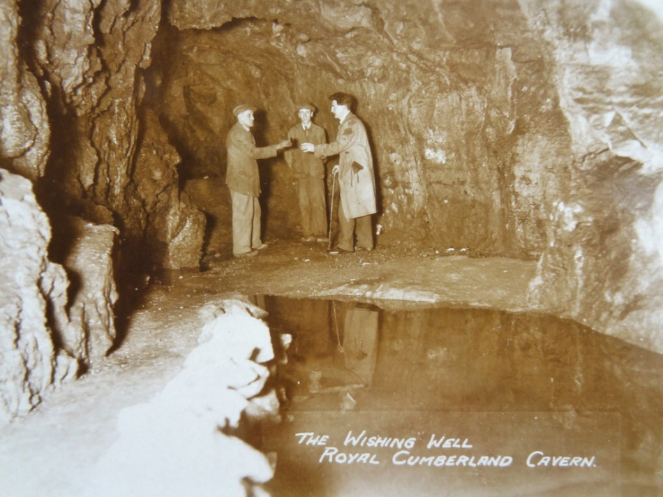 Sighting Cyril – the Royal Cumberland Cavern