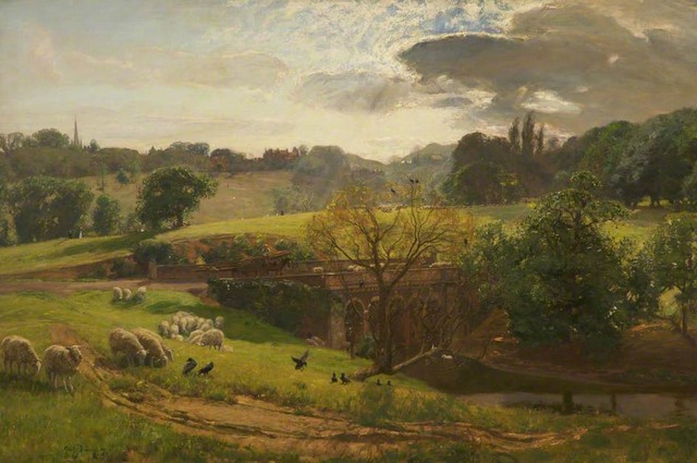 hampstead,-from-the-viaduct,-david-murray,-1897--