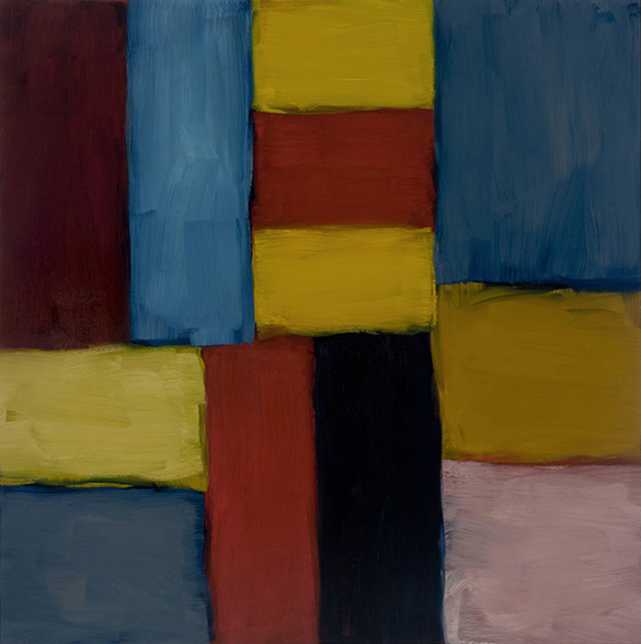 Painting by Sean Scully