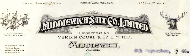 MIDDLEWICH SALT CO LETTERHEAD 1946