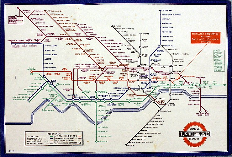article henry beck material culture london tube