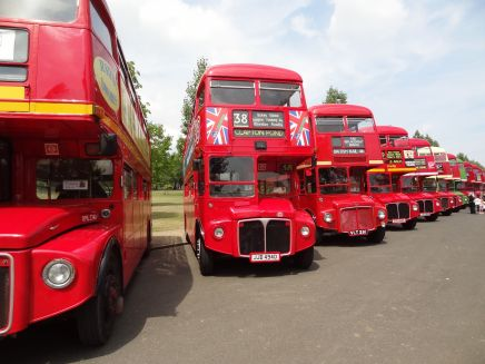 The Routemaster's Sixtieth Birthday, Finsbury Park, London