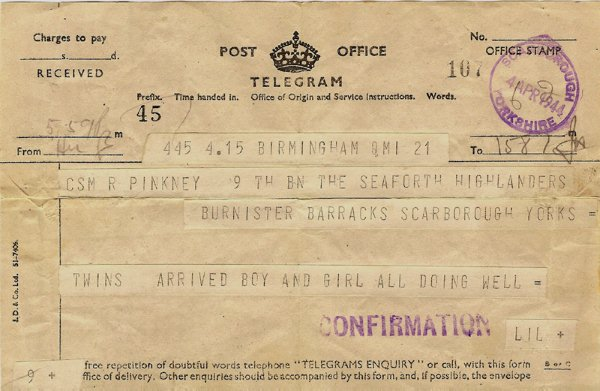 Telegram 1944
