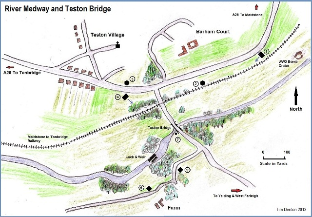 Teston-Bridge