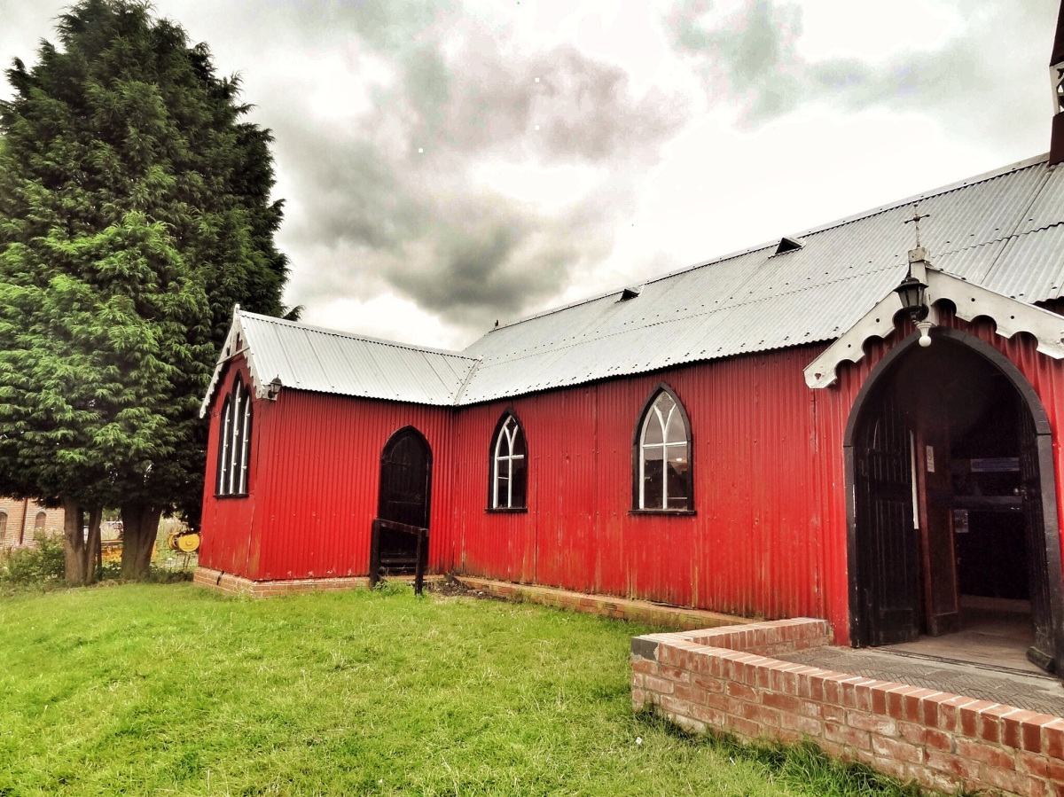 Corrugated Iron Buildings - St. Saviour's Church