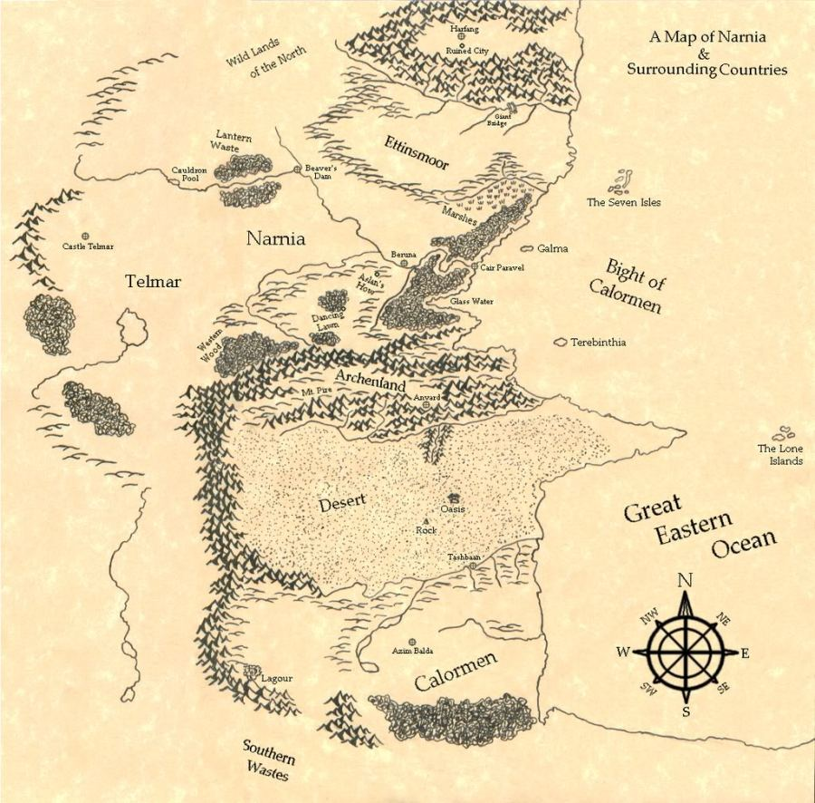 drawn_map_of_narnia_by_swordoftheword-d3iuwca