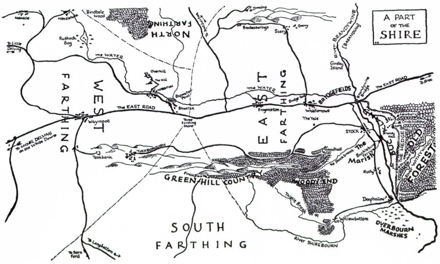 map-of-the-shire