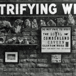 Petrifying Well with Cumberland Advert small