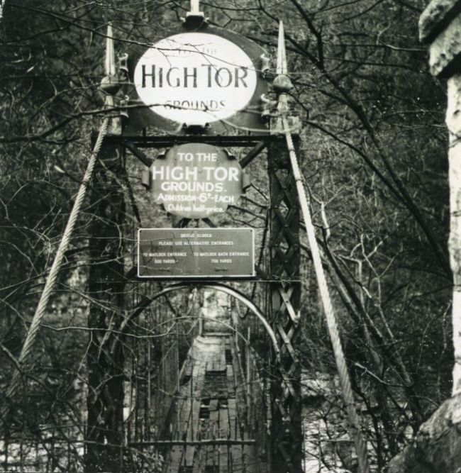 high tor bridge entrance