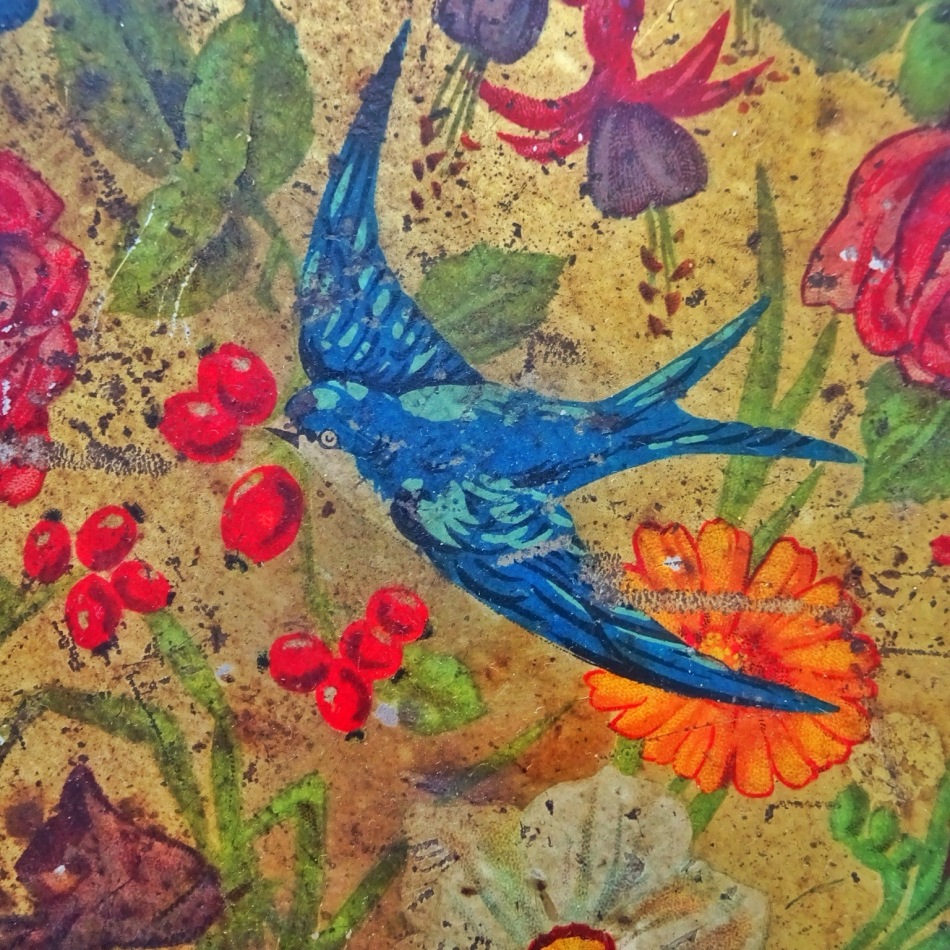 Journey Can: Blue Bird ToffeeTin