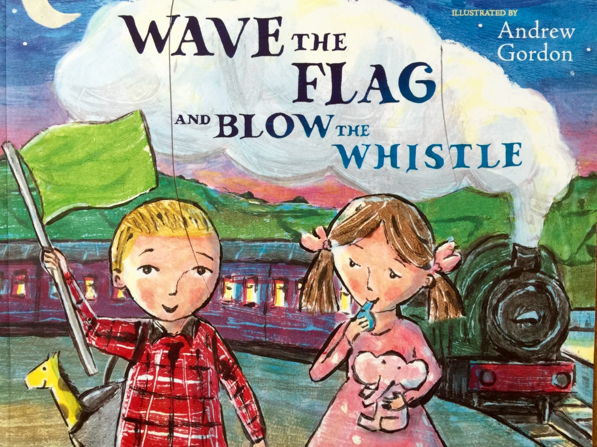Children's Book Review: Wave the Flag and Blow the Whistle