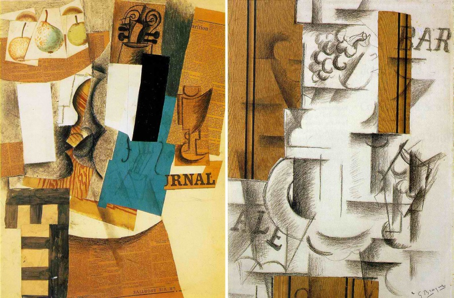 PabloPicasso_GeorgesBraque_Collage